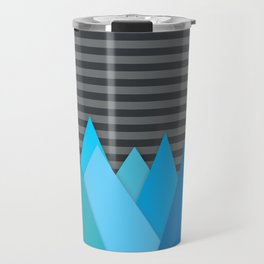 Blue Attack Travel Mug
