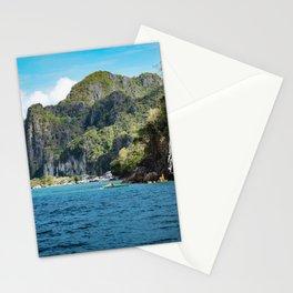 El Nido Town in Palawan Stationery Cards