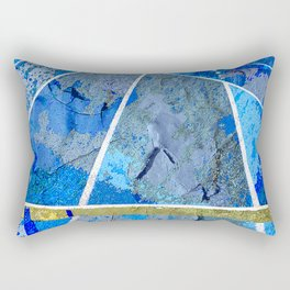Track And Field Art Rectangular Pillow
