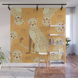 Cheetah, African Wildlife Wall Mural