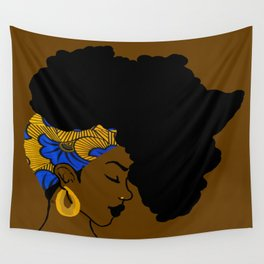 Fro African Wall Tapestry