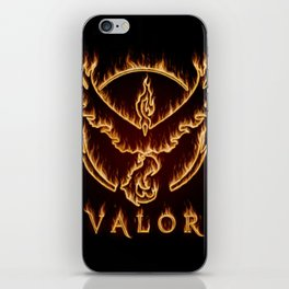 Valorous Flames iPhone Skin