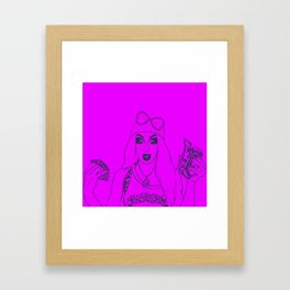 We Love Crookers Framed Art Print