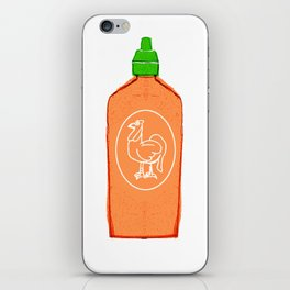 Rooster Sauce  iPhone Skin