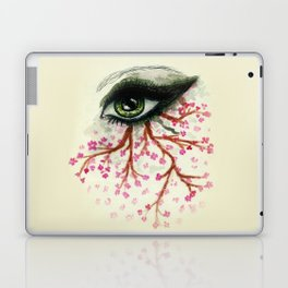 Sketch of an Eye with sakura Laptop & iPad Skin