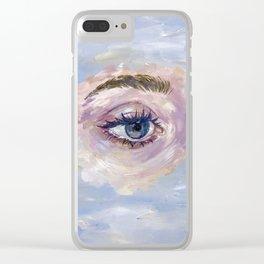 Maria Clear iPhone Case