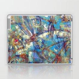 Dragonflies in blue Laptop & iPad Skin
