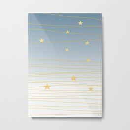 Christmas Sky #society6 #decor #buyart Metal Print