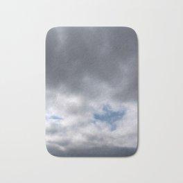 Dove in Clouds Bath Mat