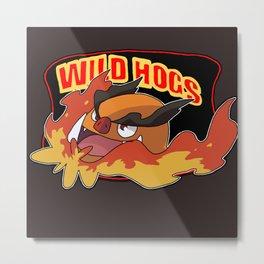 Wild Hogs Metal Print