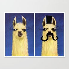 Evil Twin Canvas Print