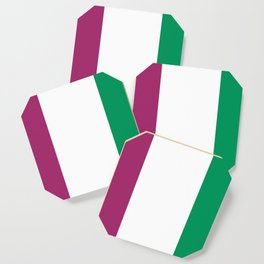 Flag of the suffragettes Coaster