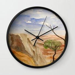 """South Rim Overlook"" Wall Clock"