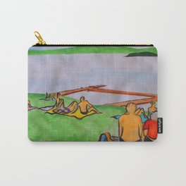Dreaming of lazy summer afternoons on the banks of Lake Mälaren Carry-All Pouch