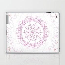 Lesbian Pride Spirograph Laptop & iPad Skin