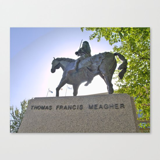 Thomas Francis Meagher August 3, 1823 – July 1, 1867 Canvas Print