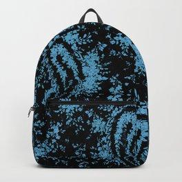 denim paisley Backpack