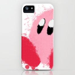 Kirby Splatter ~ ☆ iPhone Case
