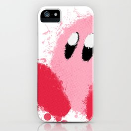 Kirby Splatter ~ ☆ iPhone Case
