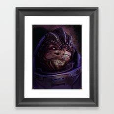 Mass Effect: Grunt Framed Art Print