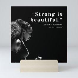 6      Serena Williams Quotes   190518 Mini Art Print