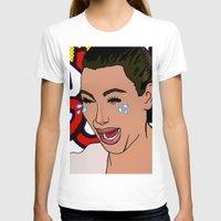 kardashian T-shirts featuring Kim Lichenstein by Fake Wealth