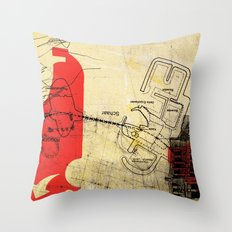 overflow #21 Throw Pillow