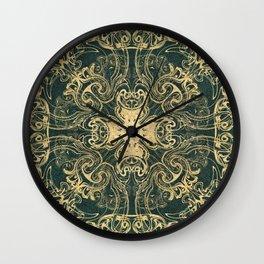 Royal Labradorite Wall Clock