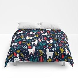 Cute Alpaca Comforters