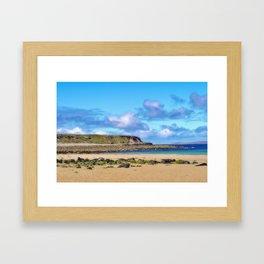 Dugort Headland On Achill Island Framed Art Print