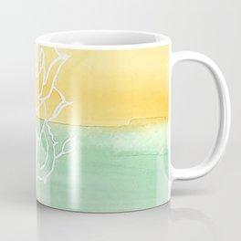 Rainbow Rose and Dagger Coffee Mug