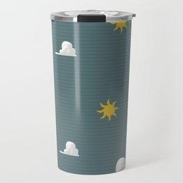 Vintage Weather Pattern Travel Mug