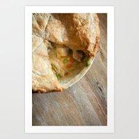 pie Art Prints featuring Pie! by emran