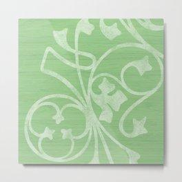 Rejas Green Metal Print