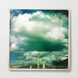 Place de la Concorde, Paris. Metal Print