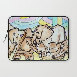 Elephants Laptop Sleeve