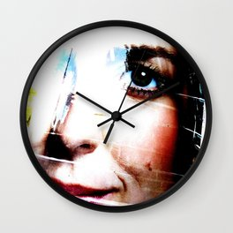 Marianne Thieme Is Watching YOU! 2-2 Wall Clock