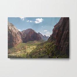 Never Ending - Zion National Park Metal Print