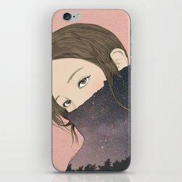 DREAMING GIRL iPhone Skin