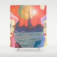 sisters Shower Curtains featuring Sisters by Dream Realm Photography and Art
