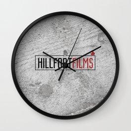 Hillfort Films Wall Clock