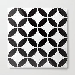 Geometric Pattern #65 (circles) Metal Print