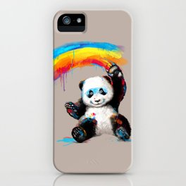 Giant Painter iPhone Case