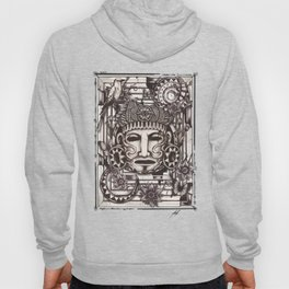 Mayan Mask Hoody