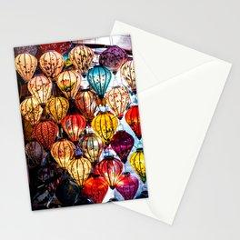 Lanterns of Hoi An, Vietnam Stationery Cards