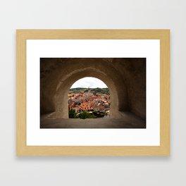 Cesky Krumlov Framed Art Print
