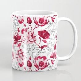 Red Magnolia Coffee Mug