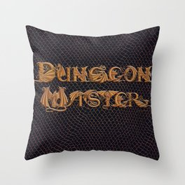 Dracoserific Dungeon Master Throw Pillow