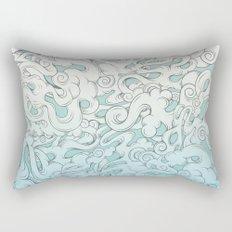 Entangled Clouds Rectangular Pillow