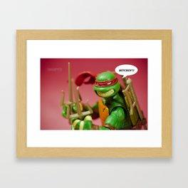 Bitchin'!! Framed Art Print
